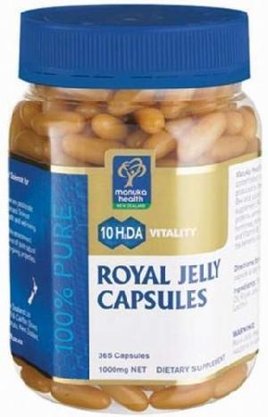 Pure New Zealand Manuka Health 10HDA Royal Jelly (365 Capsules)