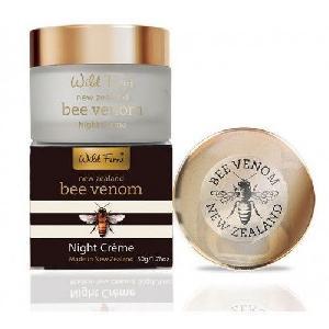 Wild Ferns Bee Venom Night Cream With Active Manuka Honey (50g)