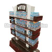 Water Bottle Display Rack