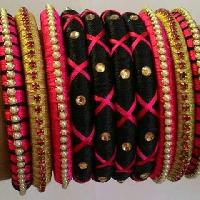 Luxury Silk Thread Bangles