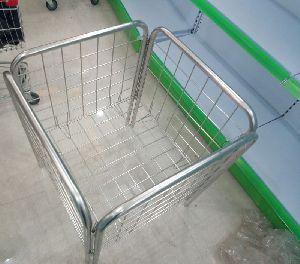 Stainless Steel Dump Basket