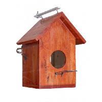 Side Glass Bird Houses