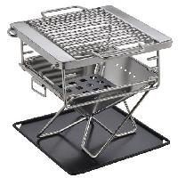 Portable & Foldable Charcoal Barbecue Grill
