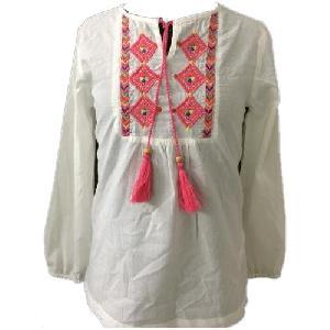 Ladies Cotton Full Sleeves Tops