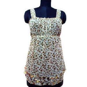 Ladies Printed Sleeveless Tops