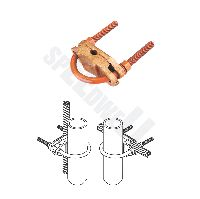 U Bolt Pipe To Cable Clamp - Type Pub