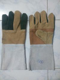 Multi Color Leather Hand Gloves