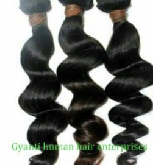 Broad Black Curly Hair Extension