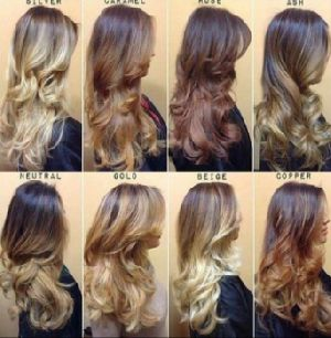 Colored Hair Extension
