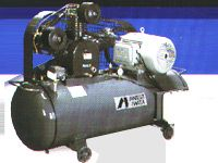 Reciprocating Lubricated Air Compressor
