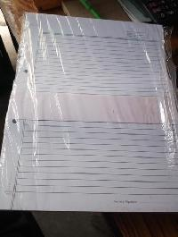 Ruled Paper Sheets