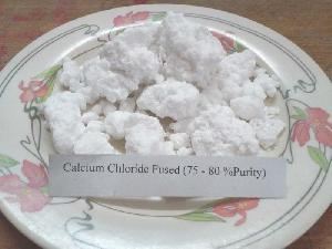 75% - 80% Purity Calcium Chloride Lumps