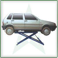 Portable Scissor Auto Lift