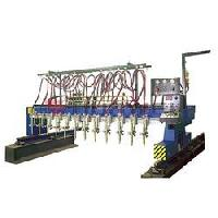 multi torch strip cutting machine