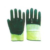 Cotton Double Color Gloves