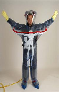 Positive Pressure Safety Suit