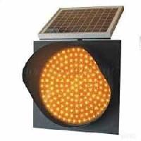 Cone Mountable Solar Warning Light