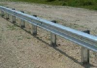 W Beam Crash Barrier