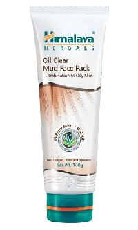 Oil Clear Mud Face Pack