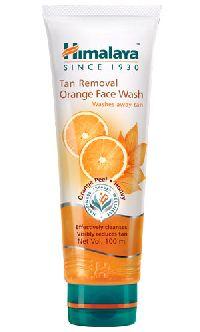 Tan Removal Orange Face Wash