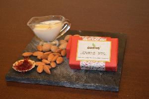 Almond Milk & Saffron Premium Bathing Bar