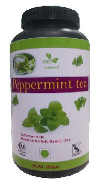 Hawaiian herbal peppermint tea
