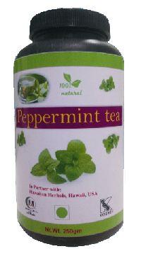 Hawaiian herbal peppermint tea