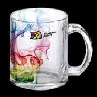 Clear 11oz Glass Mug
