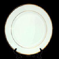 10 Inch Golden Rim Plate