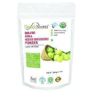 Healthsootra Organic Amla Powder / Indian Gooseberry 200 Gm..