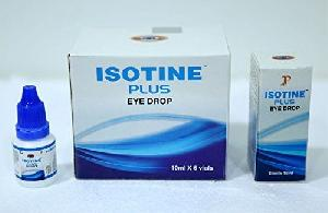 NEW ISOTIN PLUS EYE DROP ADVANCE FORMUL - 6 VIAL PACK
