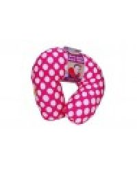 Pink Viaggi Microbead Travel Neck Pillow