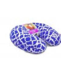 Royal Blue Viaggi Microbead Travel Neck Pillow