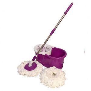 Purple Spin Magic Mop