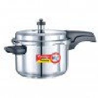 Stainless Steel Deluxe Pressure Cookers 4 Litre