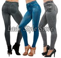 Pencil Women Stretch Casual Denim Skinny Jeans Pants High Waist Jeans