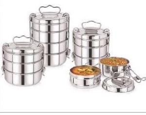 Stainless Steel Carrier Tiffin Boxes