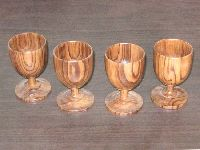Wooden Drinking Cups
