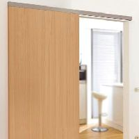 Prague (office Door Sliding System For Wooden Doors )