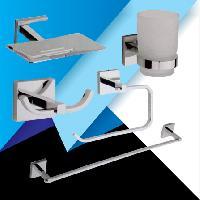 QU-1404 Fitwell 5 Piece Complete Bathroom Set