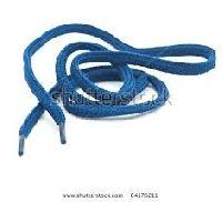 Blue Color Shoe Lace