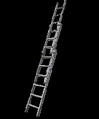 Aluminium Wall Support Extension Ladder