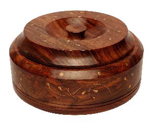 6 Inch Wooden Serving Bowl