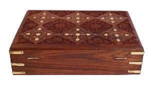 Vian0309 Wooden Handmade Jewellery Box