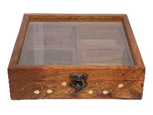 Vian0568a Wooden Spice Box