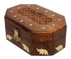 Wooden Handmade Jewellery Box