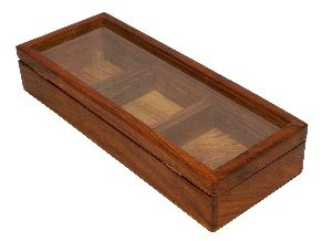 Wooden Dry Fruit Container