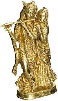 Krishna Brass Statue