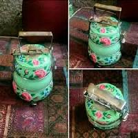 Hand Painted Tiffin Carriers