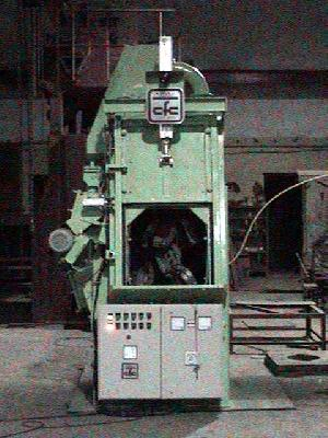 Shvd Spinner Hanger Shot Blasting Machine